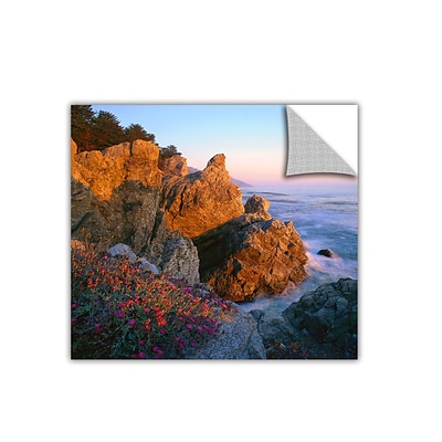 ArtWall Big Sur Sunset Art Appeelz Removable Wall Art Graphic 24 x 24 (0uhl104a2424p)