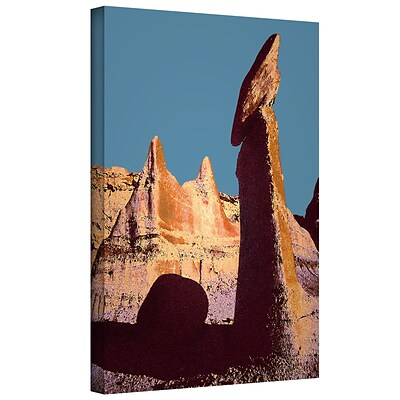 ArtWall Bisti Badland Gallery-Wrapped Canvas 18 x 24 (0uhl105a1824w)