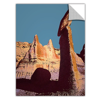 ArtWall Bisti Badland Art Appeelz Removable Wall Art Graphic 36 x 48 (0uhl105a3648p)