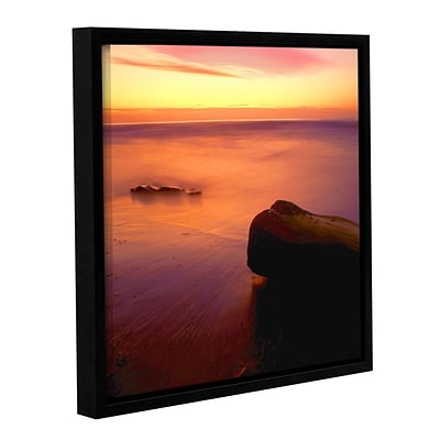 ArtWall Deep Twilight Gallery-Wrapped Canvas 18 x 18 Floater-Framed (0uhl108a1818f)