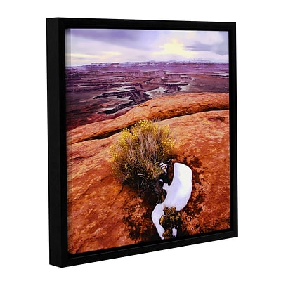 ArtWall Island In The Sky Gallery-Wrapped Canvas 18 x 18 Floater-Framed (0uhl111a1818f)