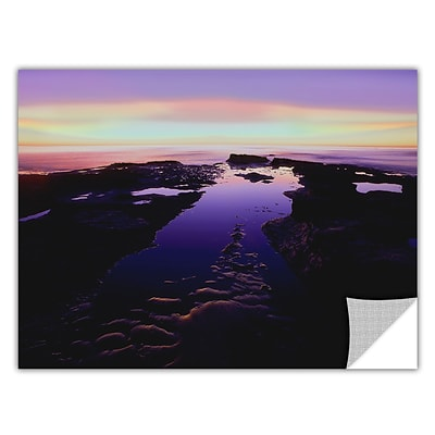 ArtWall Low Tide Afterglow Art Appeelz Removable Graphic 24 x 32 (0uhl113a2432p)