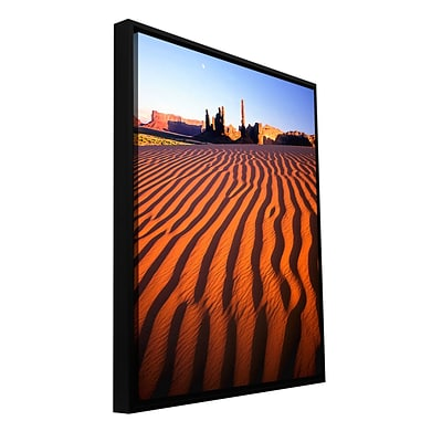 ArtWall Navajo Tribal Park Gallery-Wrapped Canvas 36 x 48 Floater-Framed (0uhl115a3648f)