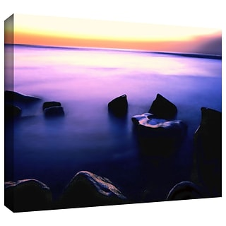 ArtWall Pacific Afterglow Gallery-Wrapped Canvas 14 x 18 (0uhl117a1418w)