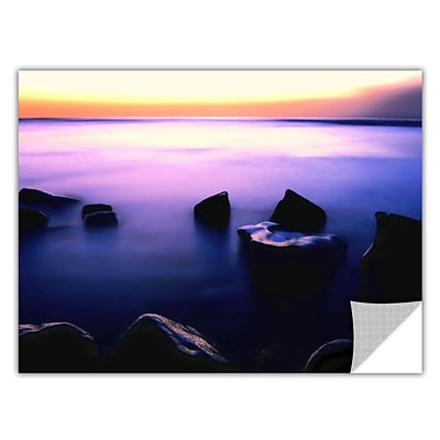 ArtWall Pacific Afterglow Art Appeelz Removable Wall Art Graphic 14 x 18 (0uhl117a1418p)