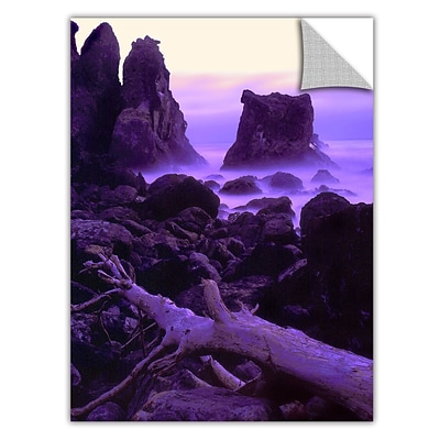 ArtWall Patricks Point Twilight Art Appeelz Removable Wall Art Graphic 36 x 48 (0uhl118a3648p)