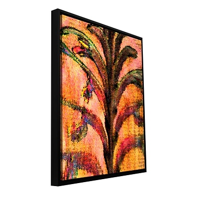 ArtWall Botanical Edges Gallery-Wrapped Canvas 36 x 48 Floater-Framed (0uhl125a3648f)