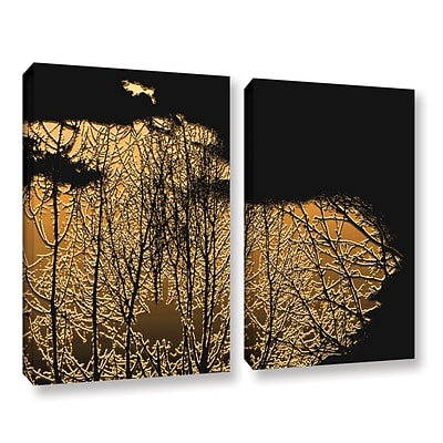 ArtWall Break In The Storm 2-Piece Gallery-Wrapped Canvas Set 24 x 36 (0uhl126b2436w)