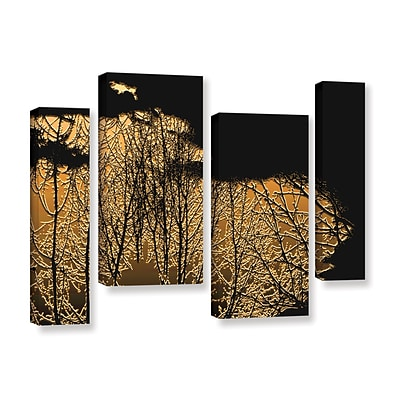 ArtWall Break In The Storm 4-Piece Gallery-Wrapped Canvas Staggered Set 36 x 54 (0uhl126i3654w)