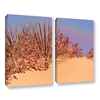 ArtWall Coral Dunes Noon 2-Piece Gallery-Wrapped Canvas Set 18 x 24 (0uhl129b1824w)