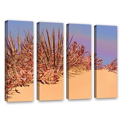 ArtWall Coral Dunes Noon 4-Piece Gallery-Wrapped Canvas Set 24 x 32 (0uhl129d2432w)