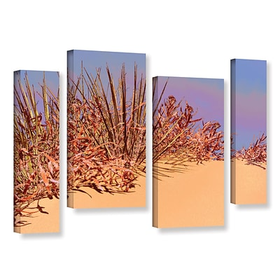 ArtWall Coral Dunes Noon 4-Piece Gallery-Wrapped Canvas Staggered Set 36 x 54 (0uhl129i3654w)
