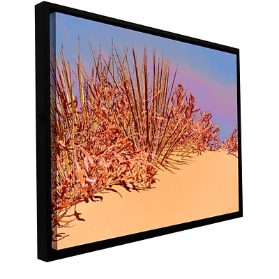 ArtWall Coral Dunes Noon Gallery-Wrapped Canvas 36 x 48 Floater-Framed (0uhl129a3648f)