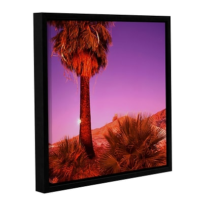 ArtWall Desert Moon Gallery-Wrapped Canvas 36 x 36 Floater-Framed (0uhl131a3636f)