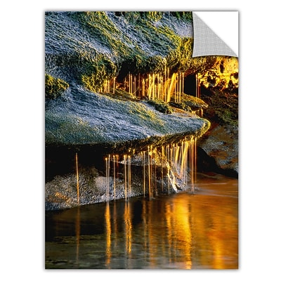 ArtWall Dripping Sunlight Art Appeelz Removable Wall Art Graphic 24 x 32 (0uhl132a2432p)
