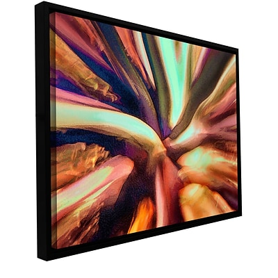 ArtWall Espectro Suculenta Gallery-Wrapped Canvas 18 x 24 Floater-Framed (0uhl133a1824f)