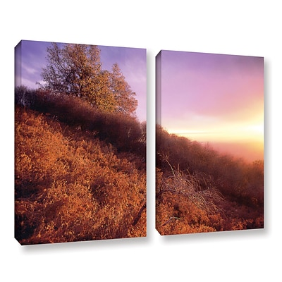 ArtWall Fire Light 2-Piece Gallery-Wrapped Canvas Set 36 x 48 (0uhl134b3648w)