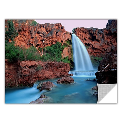 ArtWall Havasu Falls Dusk Art Appeelz Removable Wall Art Graphic 18 x 24 (0uhl135a1824p)