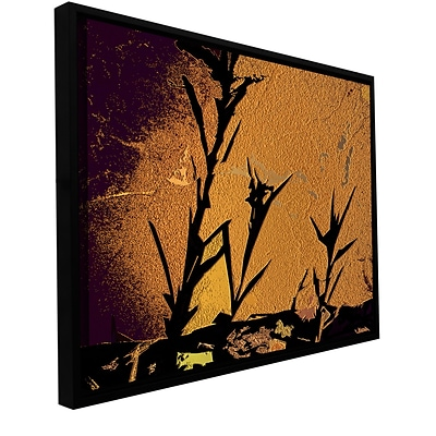ArtWall shadow Rock Gallery-Wrapped Canvas 36 x 48 Floater-Framed (0uhl138a3648f)