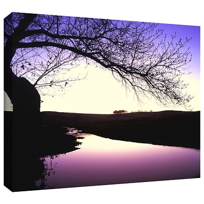 ArtWall squaw Valley Twilight Gallery-Wrapped Canvas 36 x 48 (0uhl139a3648w)
