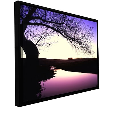 ArtWall squaw Valley Twilight Gallery-Wrapped Canvas 36 x 48 Floater-Framed (0uhl139a3648f)