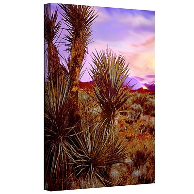 ArtWall Twilight Lighting Fire Gallery-Wrapped Canvas 14 x 18 (0uhl144a1418w)