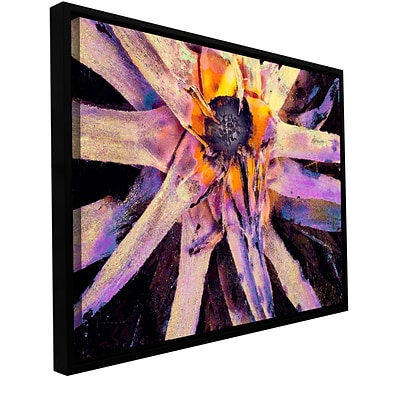 ArtWall Agave Glow Gallery-Wrapped Canvas 14 x 18 Floater-Framed (0uhl146a1418f)