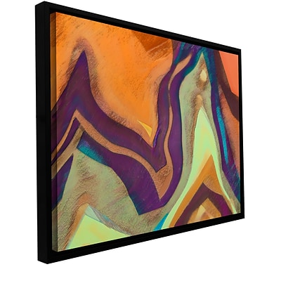 ArtWall Arrt Attack Gallery-Wrapped Canvas 24 x 32 Floater-Framed (0uhl147a2432f)