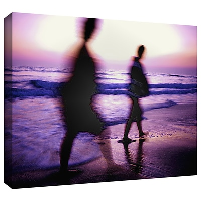 ArtWall Beach Combers Gallery-Wrapped Canvas 18 x 24 (0uhl148a1824w)