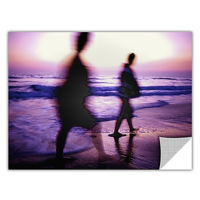 ArtWall Beach Combers Art Appeelz Removable Wall Art Graphic 24 x 32 (0uhl148a2432p)