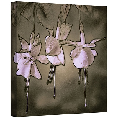 ArtWall Botanical Edges Gallery-Wrapped Canvas 24 x 24 (0uhl151a2424w)