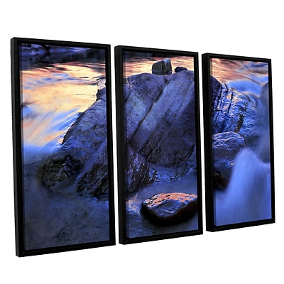 ArtWall Canyon Colours 3-Piece Canvas Set 36 x 54 Floater-Framed (0uhl152c3654f)