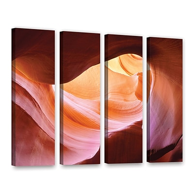 ArtWall Canyon Of The Navajo 4-Piece Gallery-Wrapped Canvas Set 36 x 48 (0uhl153d3648w)
