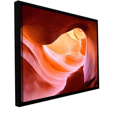 ArtWall Canyon Of The Navajo Gallery-Wrapped Canvas 36 x 48 Floater-Framed (0uhl153a3648f)