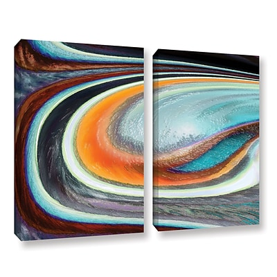ArtWall Currents 2-Piece Gallery-Wrapped Canvas Set 24 x 36 (0uhl155b2436w)