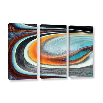 ArtWall Currents 3-Piece Gallery-Wrapped Canvas Set 36 x 54 (0uhl155c3654w)