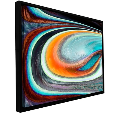ArtWall Currents Gallery-Wrapped Canvas 36 x 48 Floater-Framed (0uhl155a3648f)