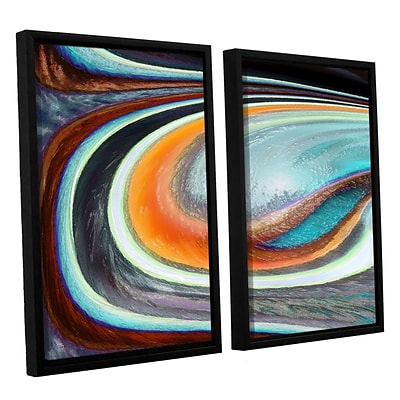 ArtWall Currents 2-Piece Canvas Set 24 x 32 Floater-Framed (0uhl155b2432f)