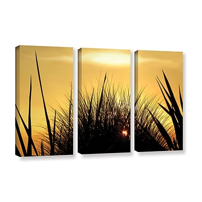 ArtWall Deep In July 3-Piece Gallery-Wrapped Canvas Set 36 x 54 (0uhl156c3654w)