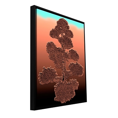 ArtWall Desert Vision Gallery-Wrapped Canvas 18 x 24 Floater-Framed (0uhl158a1824f)