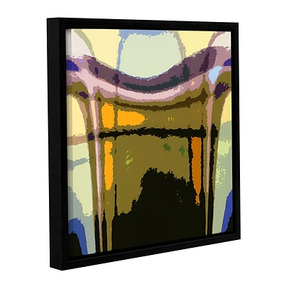 ArtWall Earth To Heaven Gallery-Wrapped Canvas 18 x 18 Floater-Framed (0uhl159a1818f)