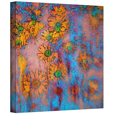 ArtWall Floral Thought Gallery-Wrapped Canvas 14 x 14 (0uhl160a1414w)