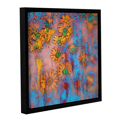 ArtWall Floral Thought Gallery-Wrapped Canvas 36 x 36 Floater-Framed (0uhl160a3636f)