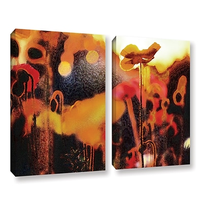 ArtWall Garden Enchanted 2-Piece Gallery-Wrapped Canvas Set 36 x 48 (0uhl161b3648w)
