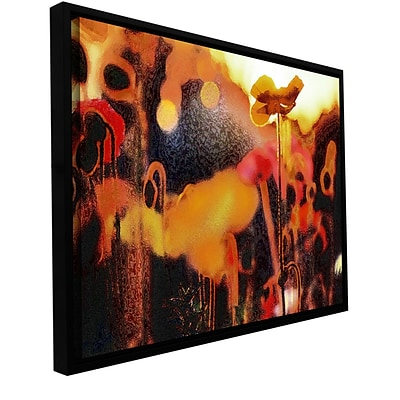 ArtWall Garden Enchanted Gallery-Wrapped Canvas 14 x 18 Floater-Framed (0uhl161a1418f)