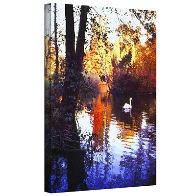 ArtWall Hamm Park Gallery-Wrapped Canvas 14 x 18 (0uhl162a1418w)