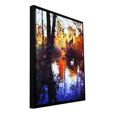 ArtWall Hamm Park Gallery-Wrapped Canvas 14 x 18 Floater-Framed (0uhl162a1418f)