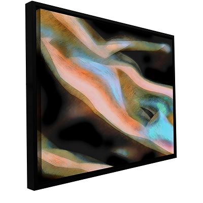 ArtWall Jazstract Gallery-Wrapped Canvas 14 x 18 Floater-Framed (0uhl163a1418f)