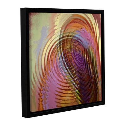 ArtWall Palette Vortex Gallery-Wrapped Canvas 18 x 18 Floater-Framed (0uhl166a1818f)