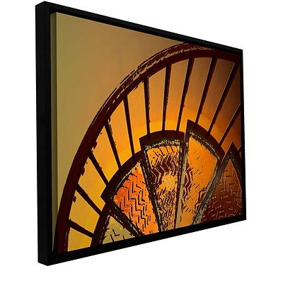 ArtWall Sixth Step Gallery-Wrapped Canvas 18 x 24 Floater-Framed (0uhl168a1824f)
